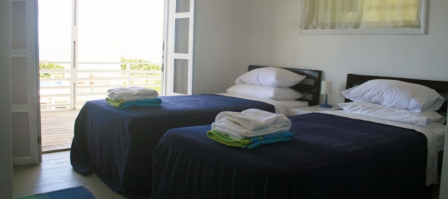 Villa Bedroom with Extra-Long Twin Beds